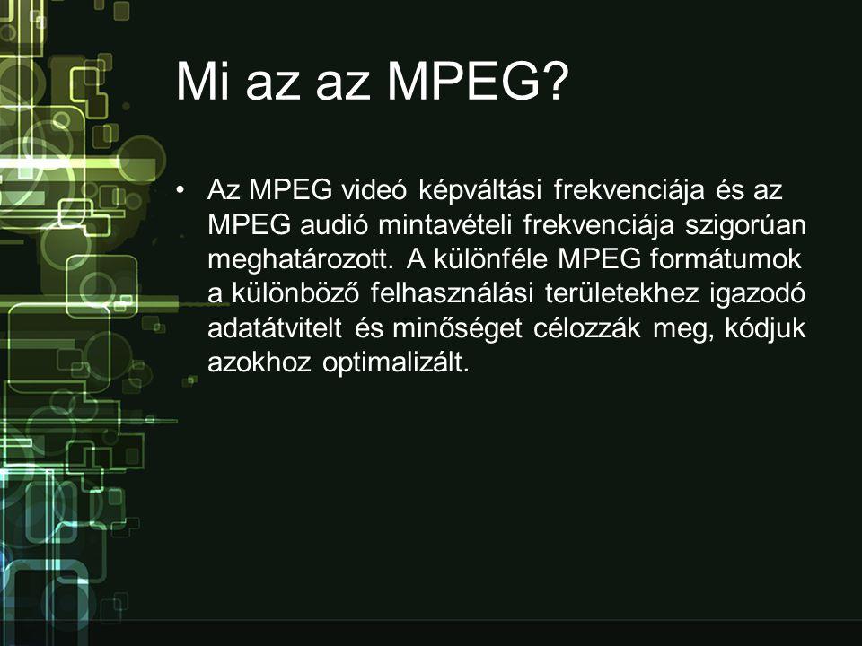 Mi az az MPEG