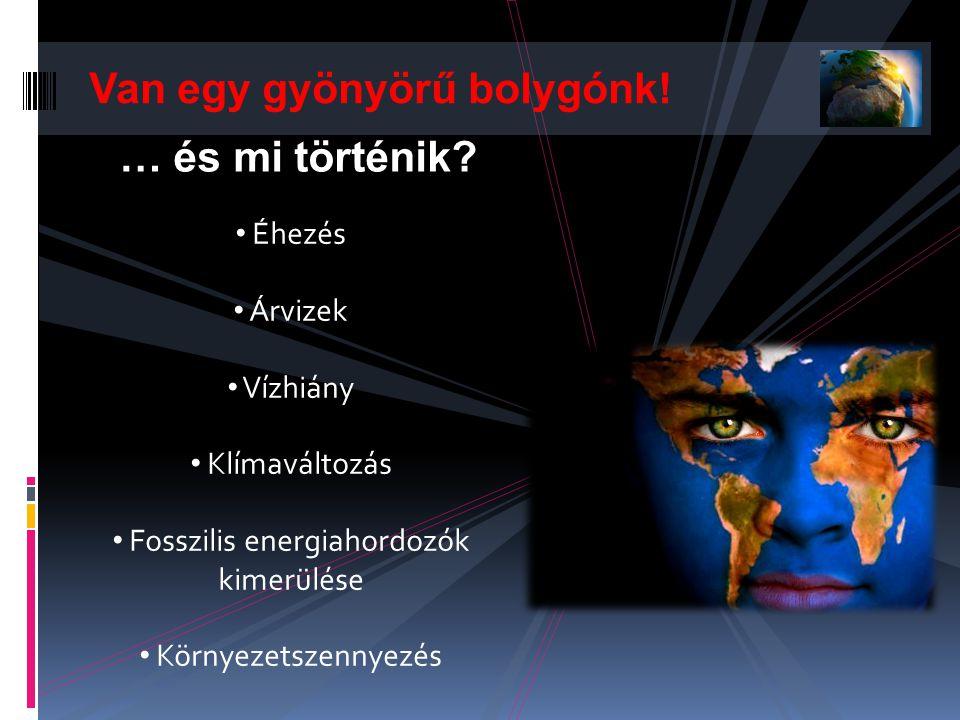 Fosszilis energiahordozók kimerülése