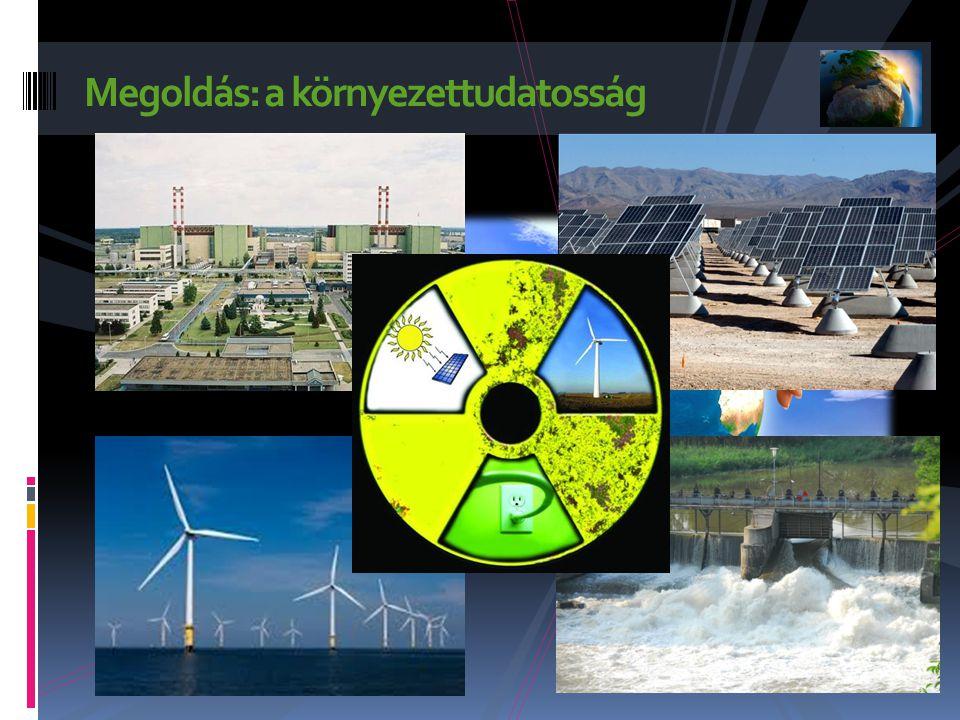 Megoldás: a környezettudatosság