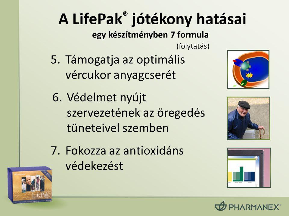 A LifePak® jótékony hatásai egy készítményben 7 formula