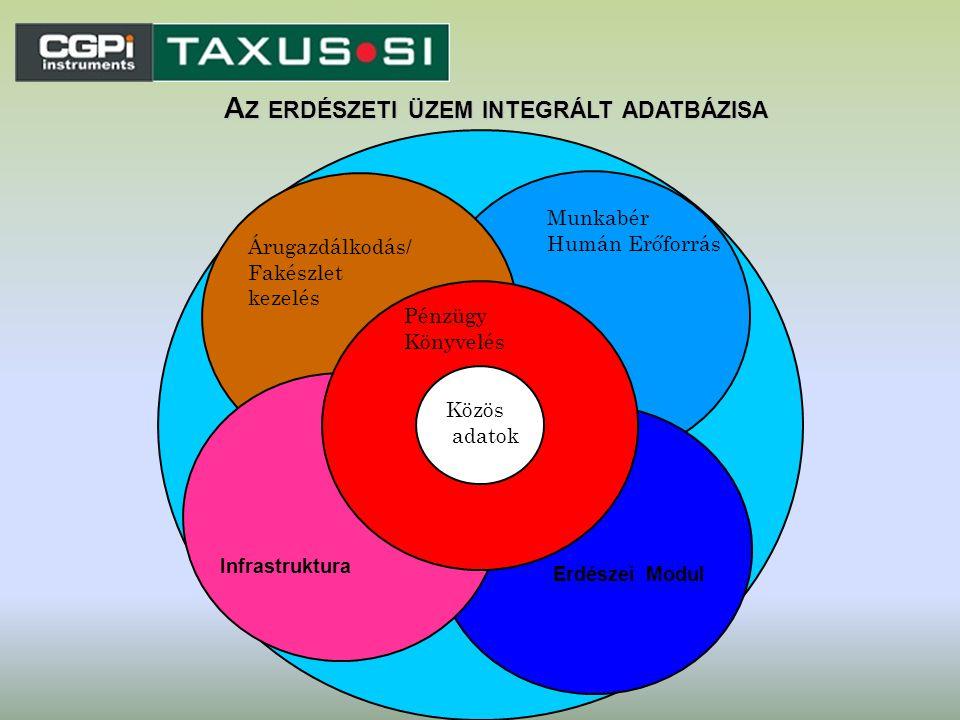 Az erdészeti üzem integrált adatbázisa
