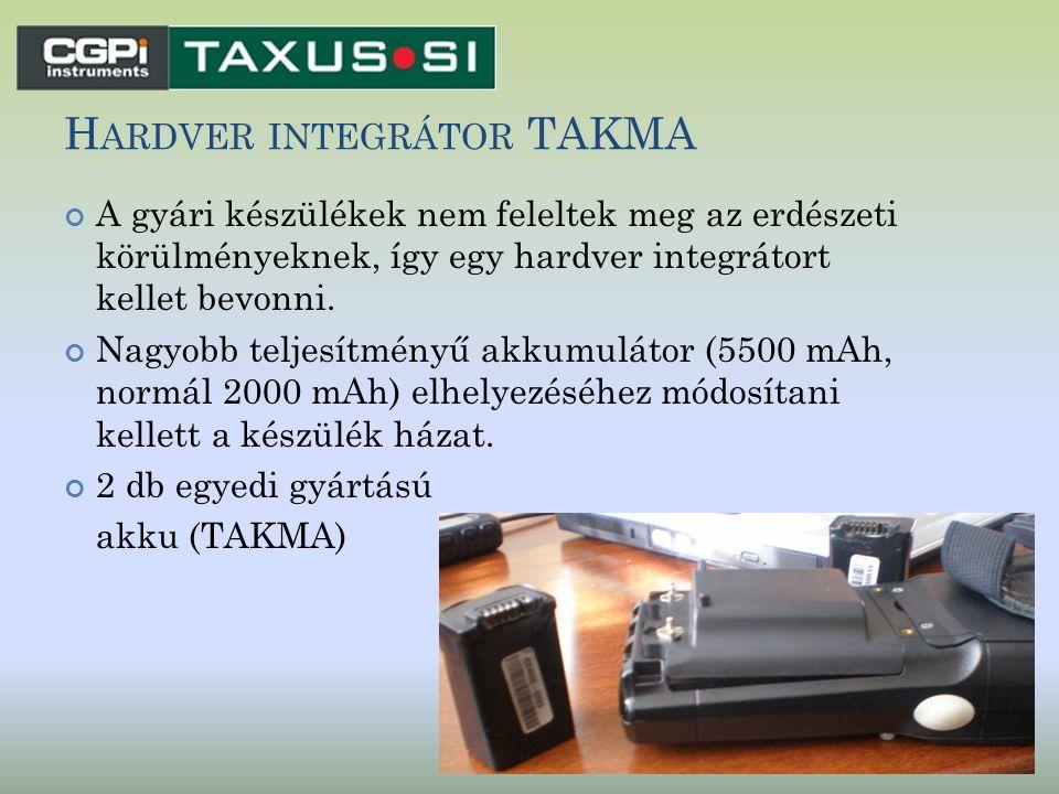 Hardver integrátor TAKMA