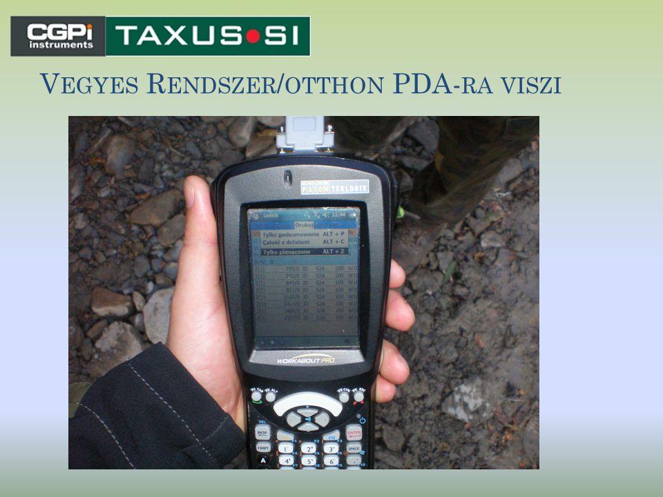 Vegyes Rendszer/otthon PDA-ra viszi