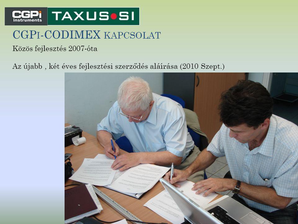 CGPi-CODIMEX kapcsolat