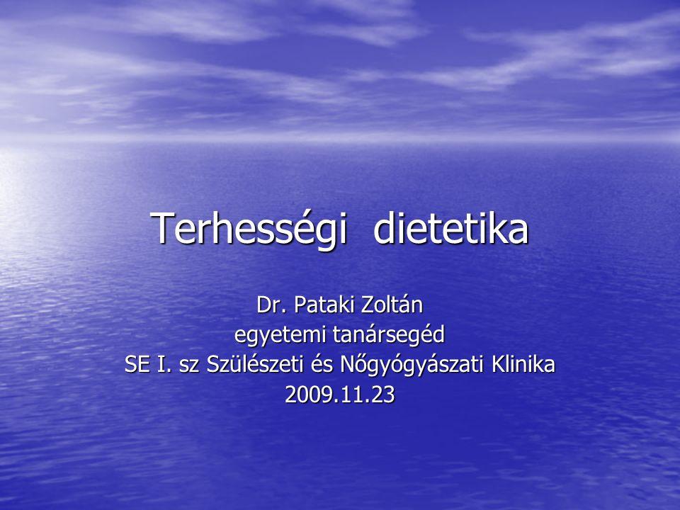 SE I. sz Szülészeti és Nőgyógyászati Klinika