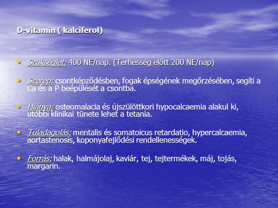 D-vitamin ( kalciferol)