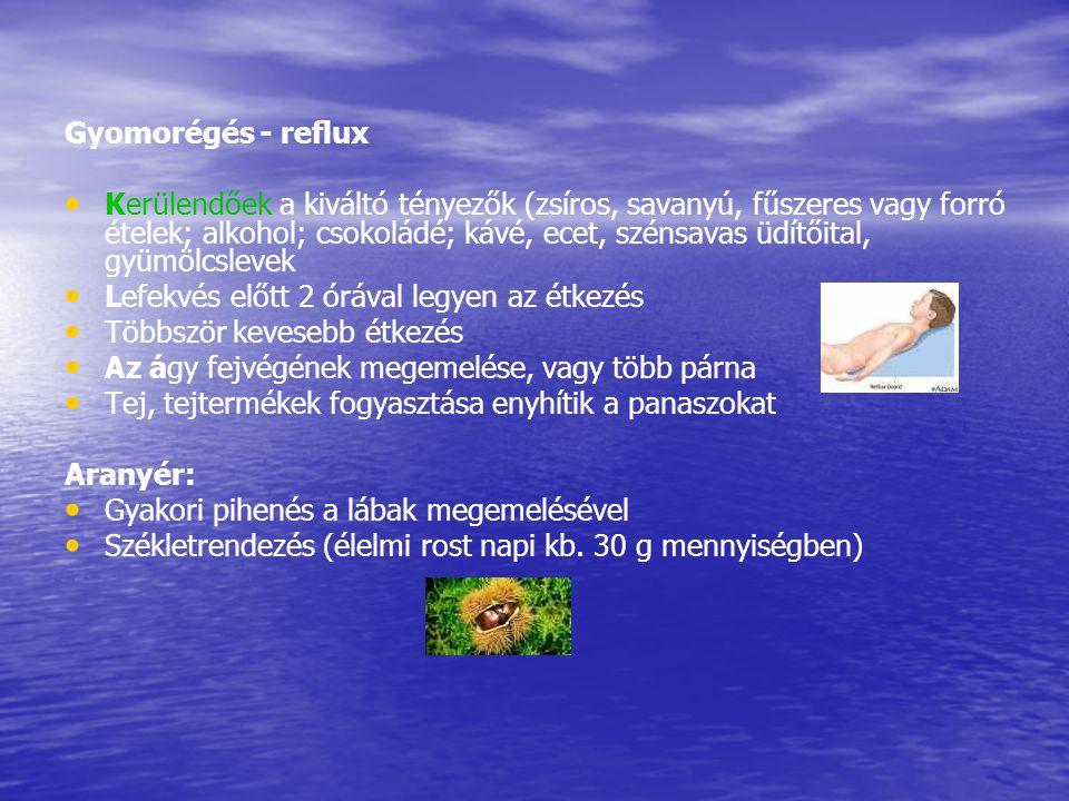 Gyomorégés - reflux