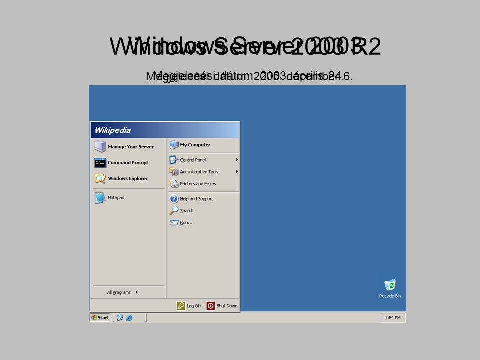 Windows Server 2003 R2 Windows Server 2003