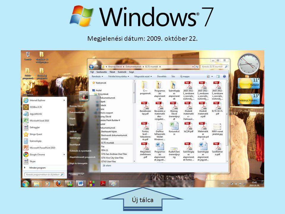 Megjelenési dátum: 2009. október 22.