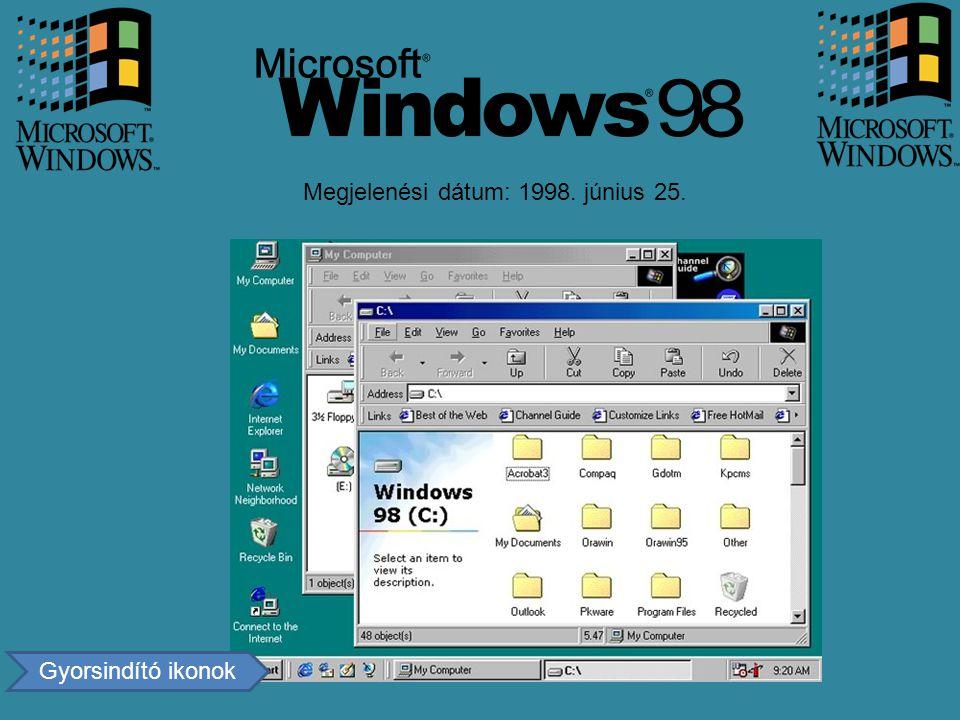 Megjelenési dátum: 1998. június 25.