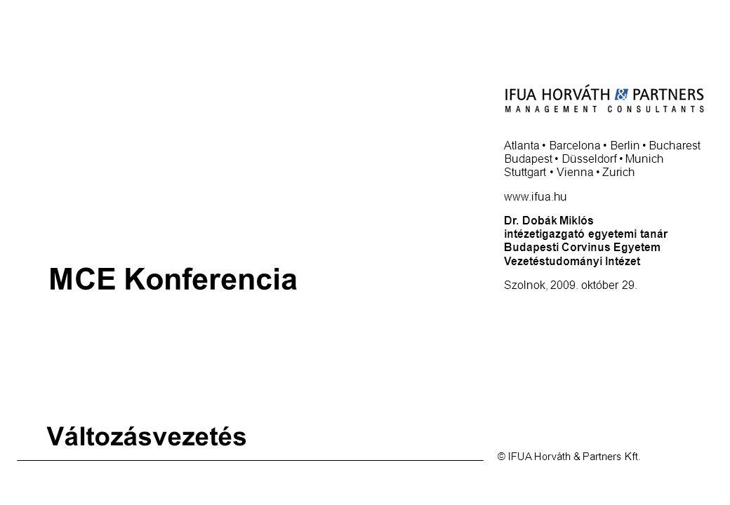 MCE Konferencia Változásvezetés