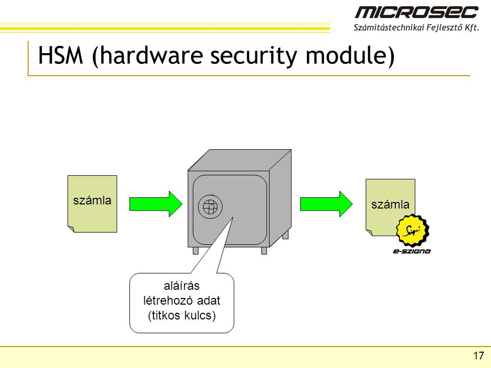 HSM (hardware security module)