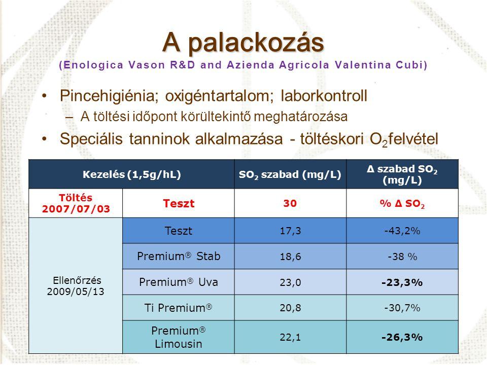 A palackozás (Enologica Vason R&D and Azienda Agricola Valentina Cubi)