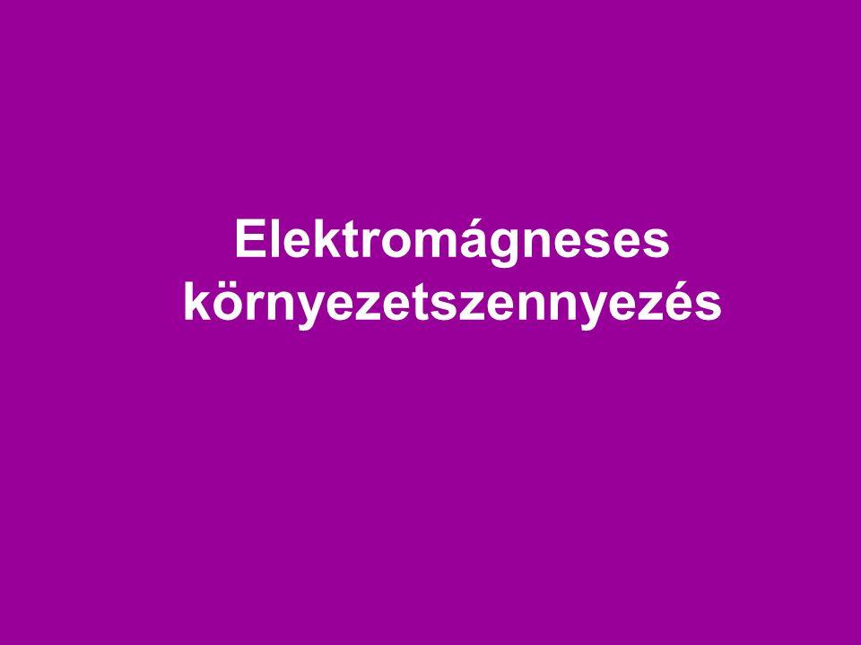 Elektromágneses környezetszennyezés