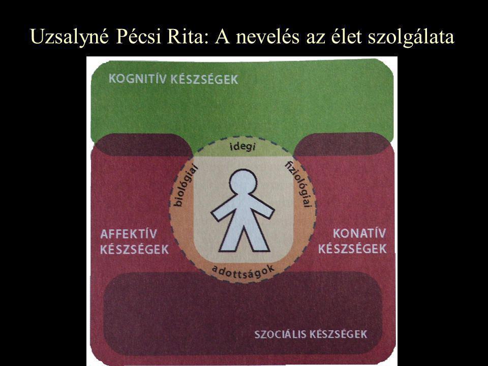 Uzsalyné Pécsi Rita: A nevelés az élet szolgálata
