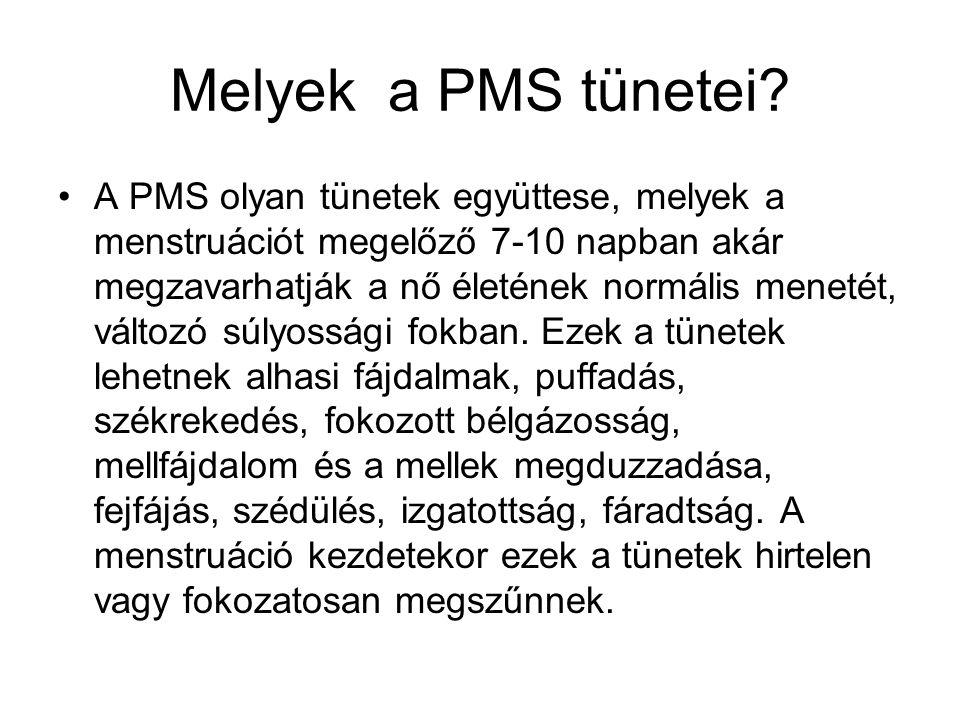 Melyek a PMS tünetei