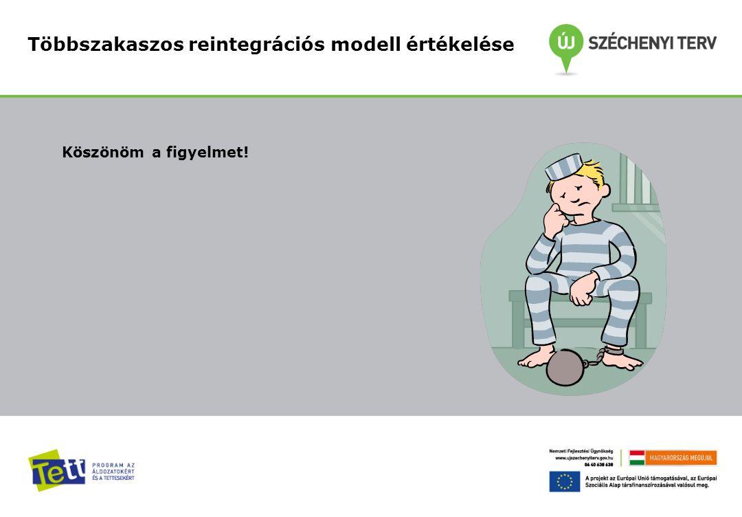 Többszakaszos reintegrációs modell értékelése