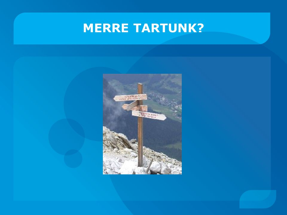 MERRE TARTUNK