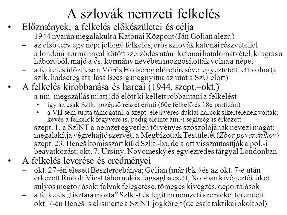 A szlovák nemzeti felkelés