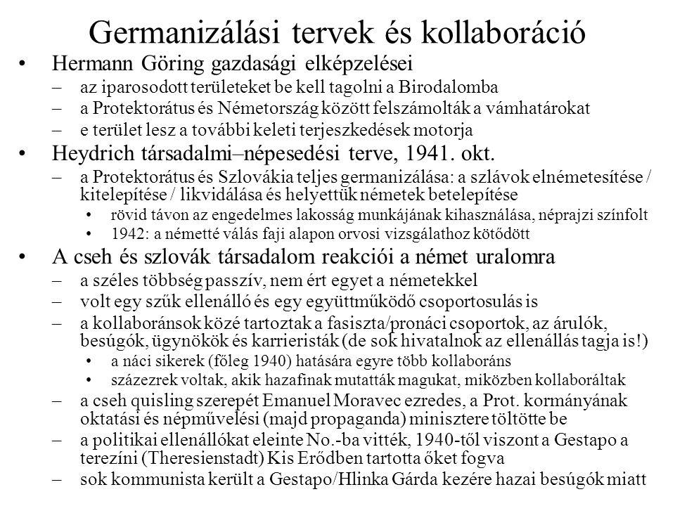 Germanizálási tervek és kollaboráció