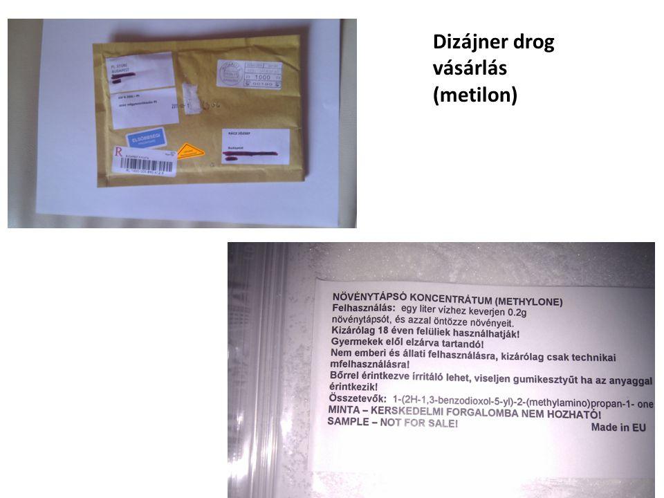 Dizájner drog vásárlás
