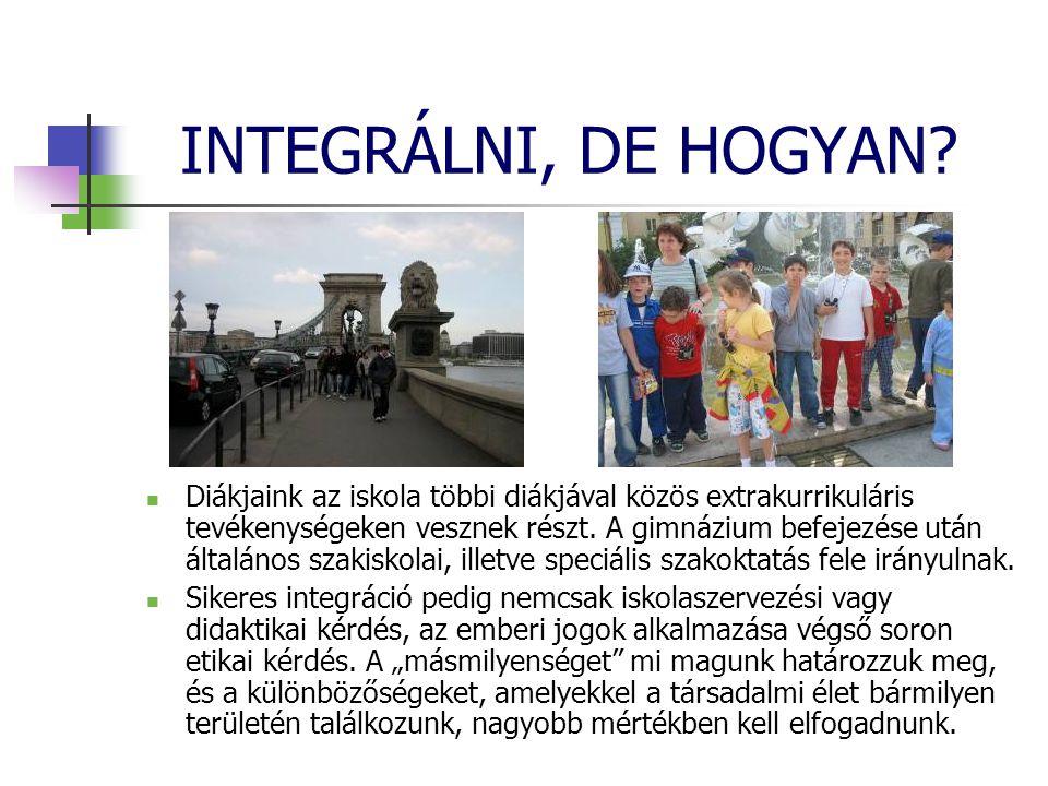 INTEGRÁLNI, DE HOGYAN