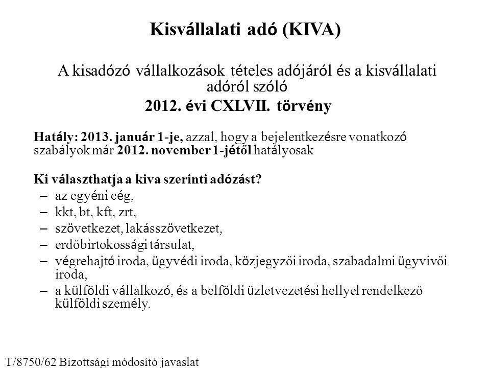 Kisvállalati adó (KIVA)