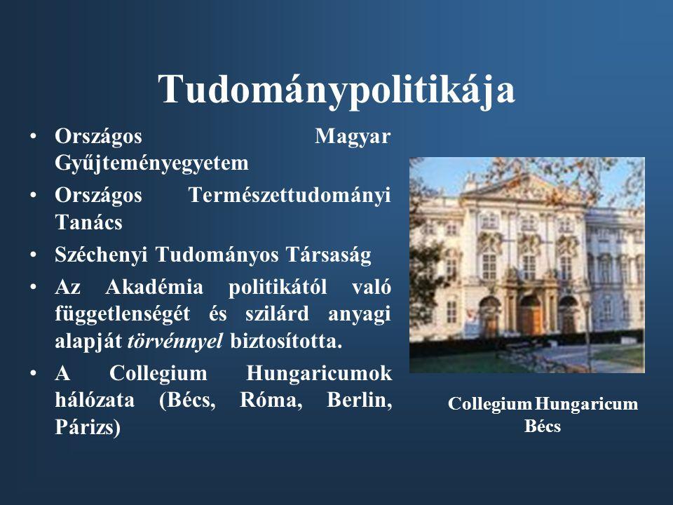 Tudománypolitikája Országos Magyar Gyűjteményegyetem