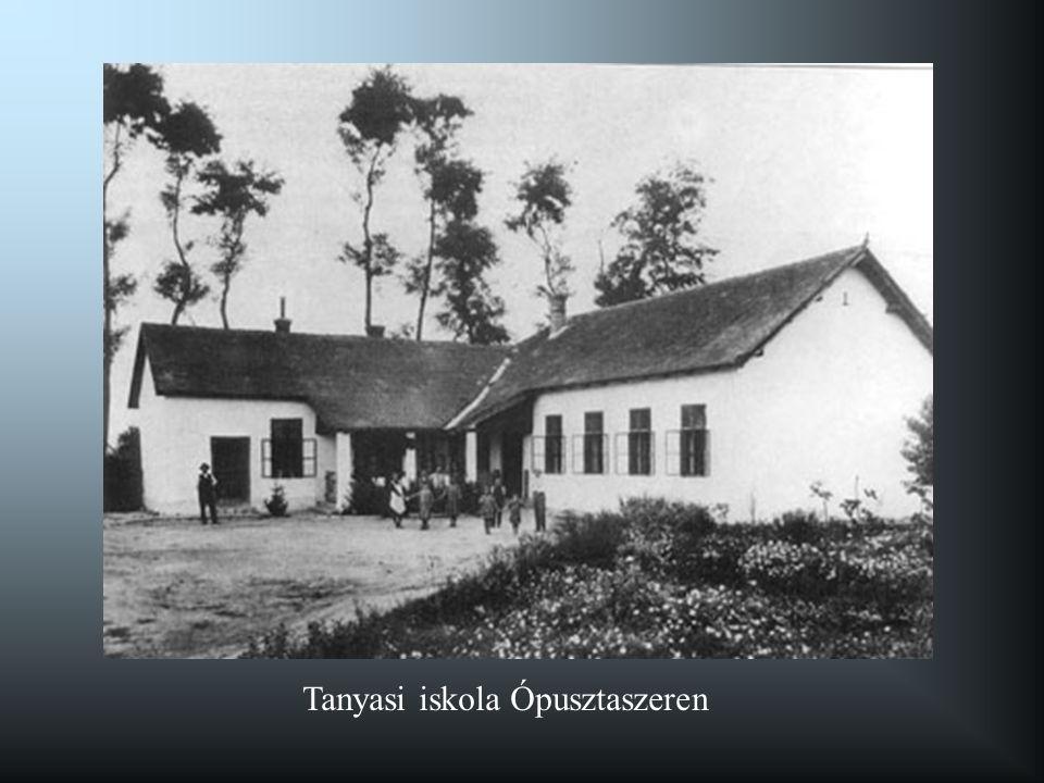 Tanyasi iskola Ópusztaszeren