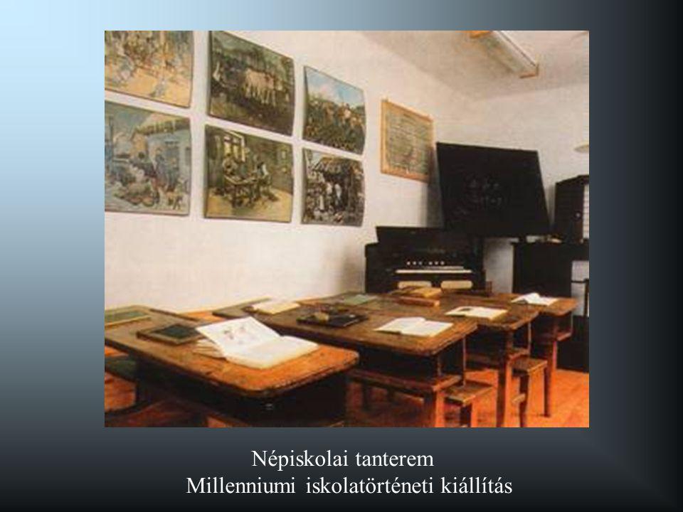 Millenniumi iskolatörténeti kiállítás