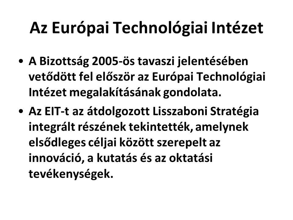 Az Európai Technológiai Intézet