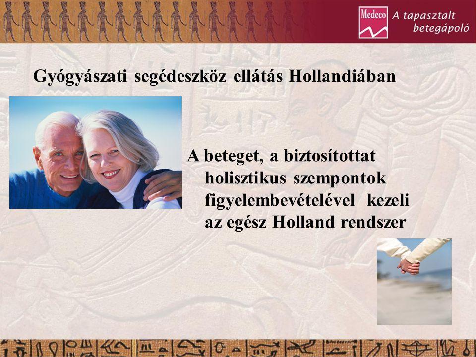 Gyógyászati segédeszköz ellátás Hollandiában