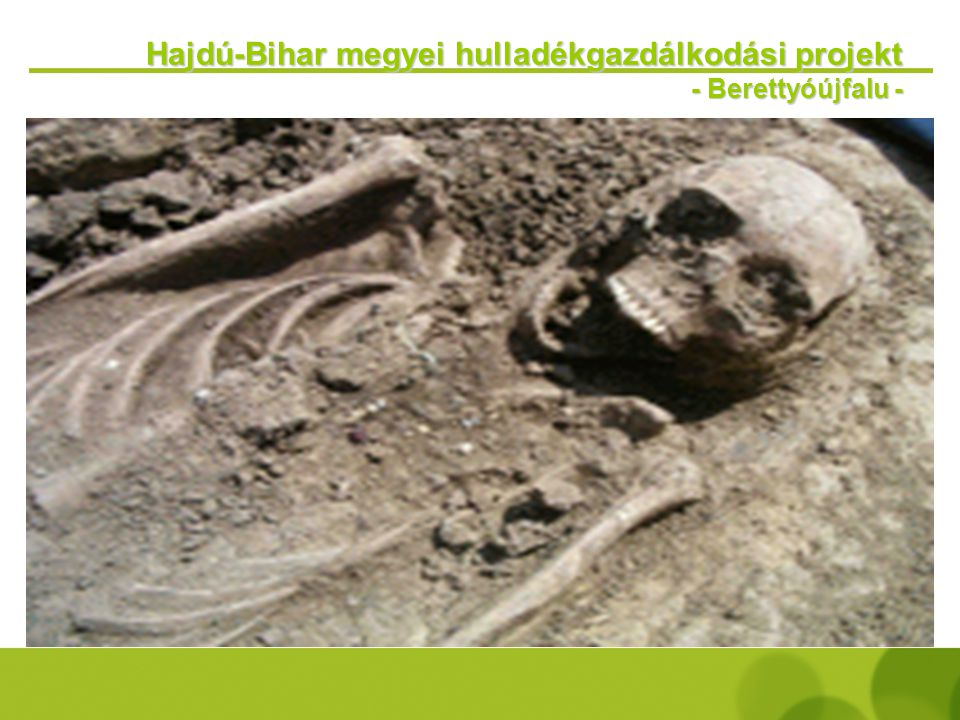Hajdú-Bihar megyei hulladékgazdálkodási projekt - Berettyóújfalu -