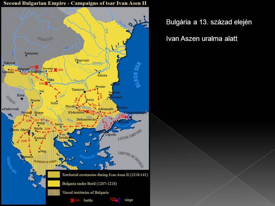 Bulgária a 13. század elején