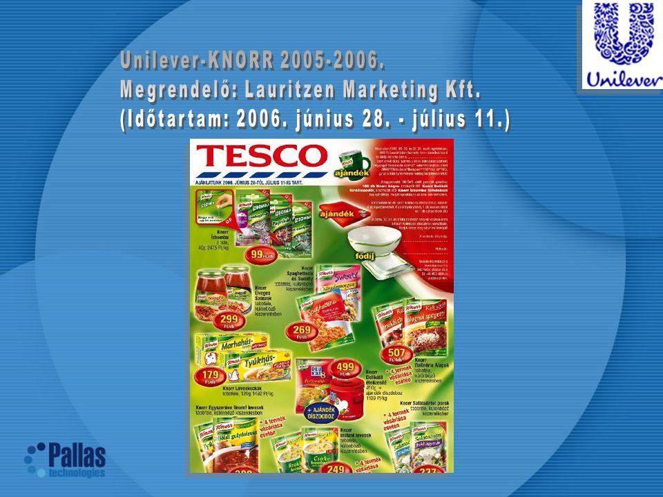 Unilever-KNORR 2005-2006. Megrendelő: Lauritzen Marketing Kft.