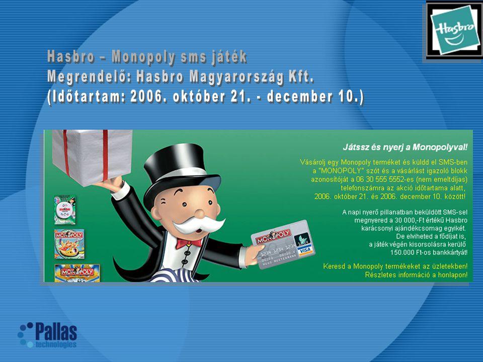 Hasbro – Monopoly sms játék