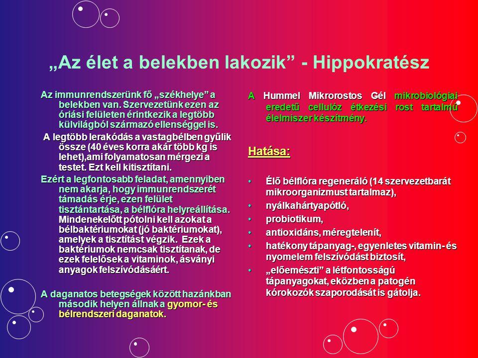 """""""Az élet a belekben lakozik - Hippokratész"""