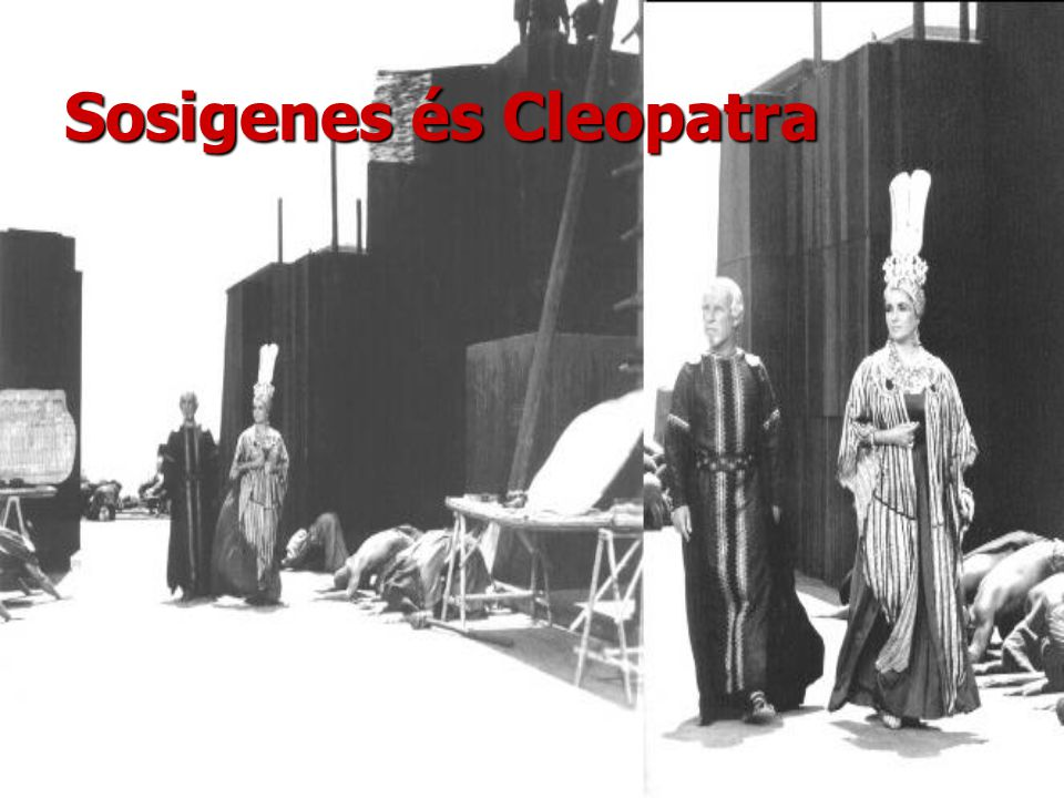 Sosigenes és Cleopatra