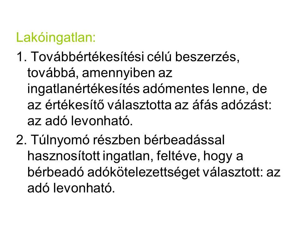 Lakóingatlan: