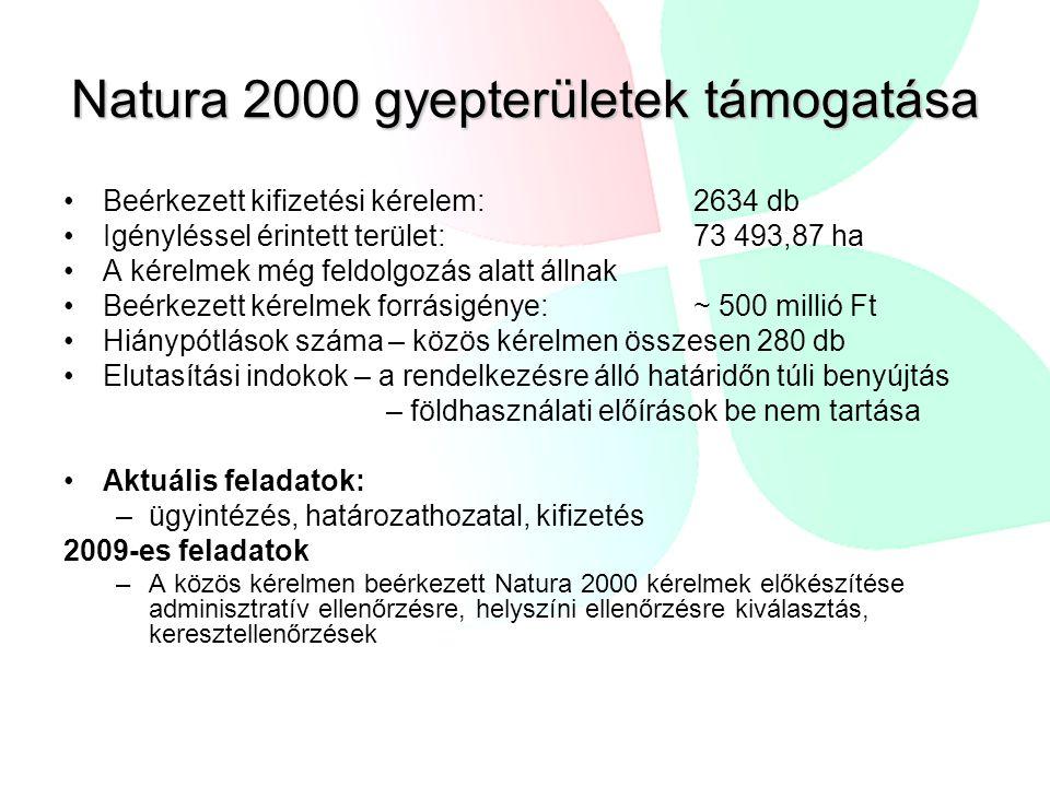 Natura 2000 gyepterületek támogatása