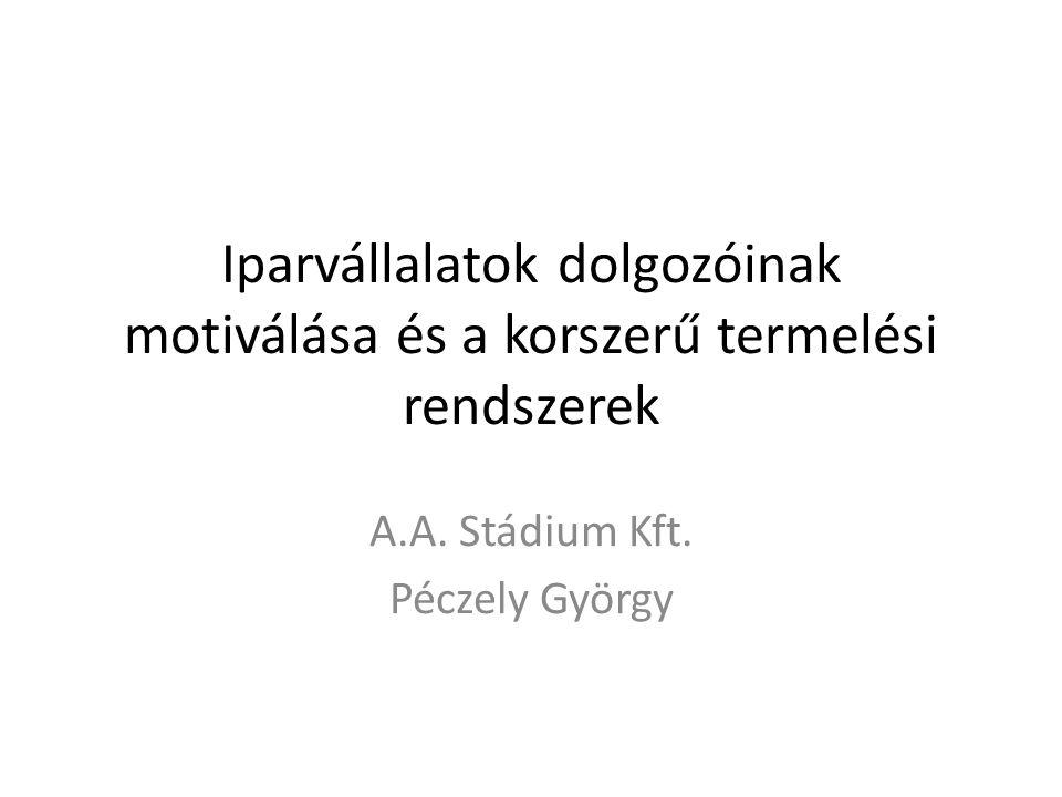 A.A. Stádium Kft. Péczely György