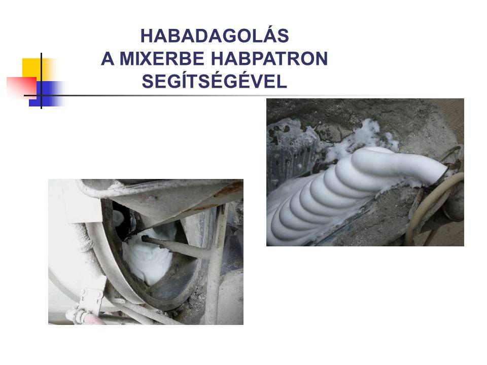 HABADAGOLÁS A MIXERBE HABPATRON SEGÍTSÉGÉVEL