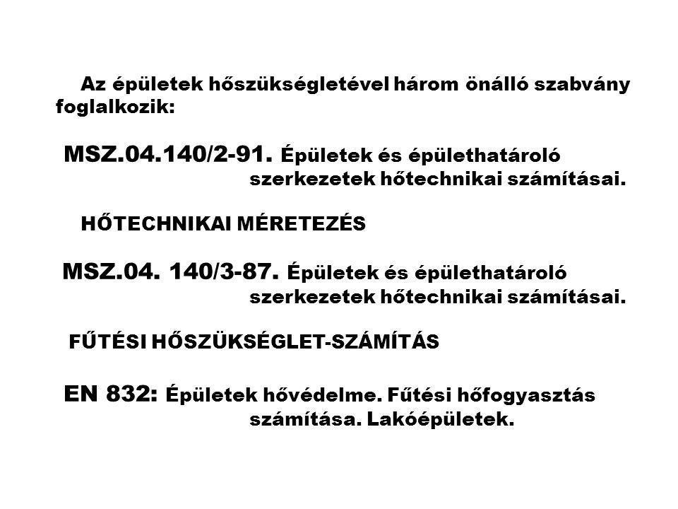 MSZ.04.140/2-91. Épületek és épülethatároló