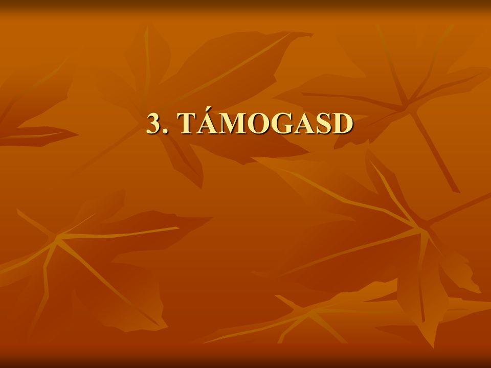 3. TÁMOGASD