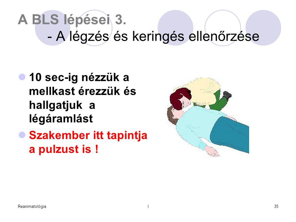 A BLS lépései 3. - A légzés és keringés ellenőrzése