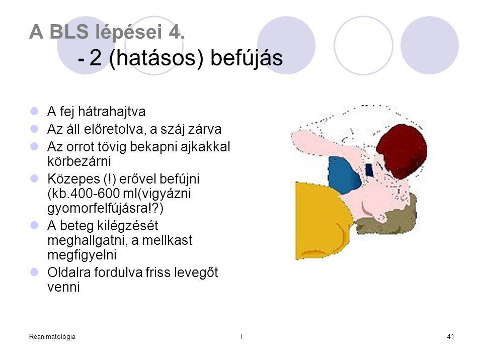 A BLS lépései 4. - 2 (hatásos) befújás