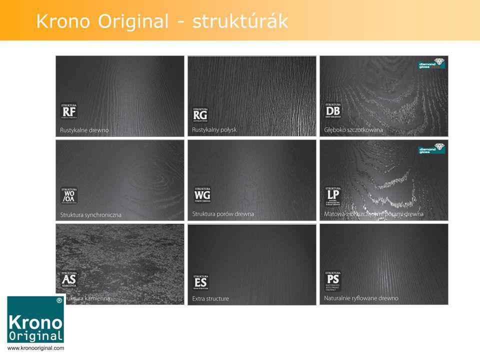 Krono Original - struktúrák