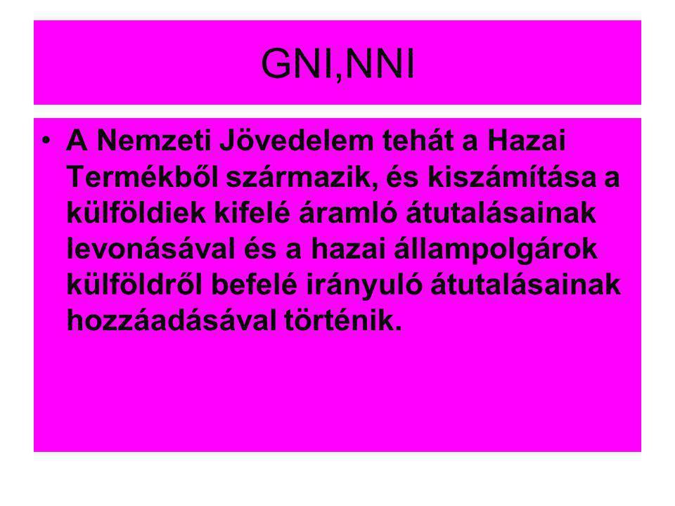 GNI,NNI