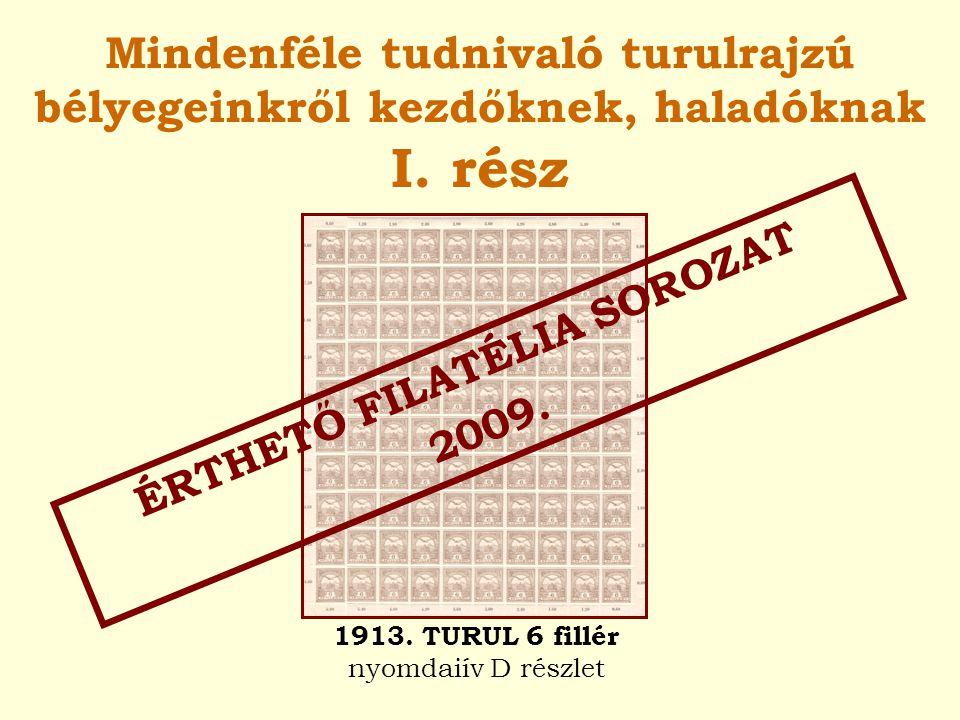 ÉRTHETŐ FILATÉLIA SOROZAT