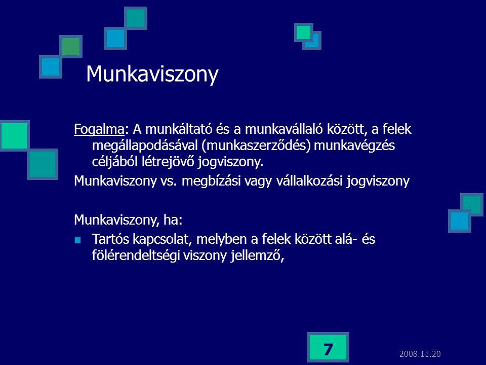 2017.04.03. Munkaviszony.